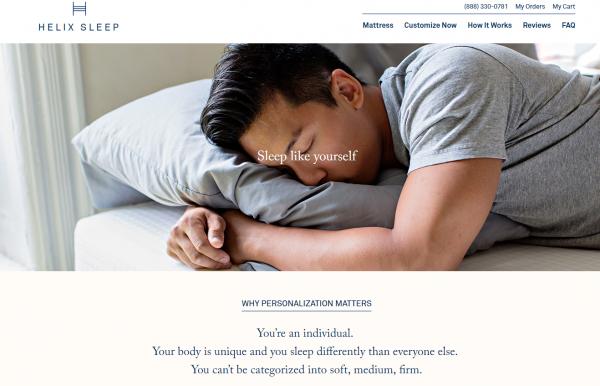 美国床垫定制公司Helix Sleep完成A轮融资 735万美元