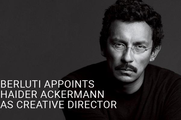 多元文化背景的设计师 Haider Ackermann 正式入主法国奢侈男装品牌 Berluti