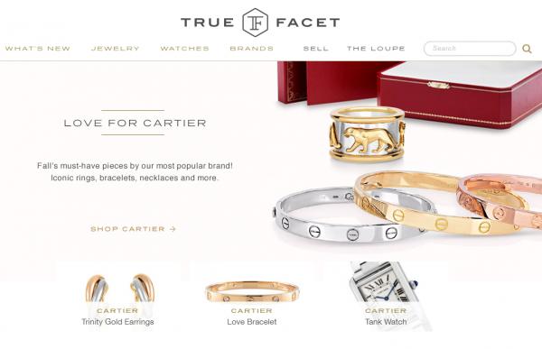 二手珠宝交易平台 TrueFacet 完成 A轮融资 600万美元