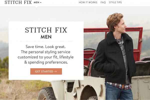 颠覆女性购物方式的 Stitch Fix 进军男装市场