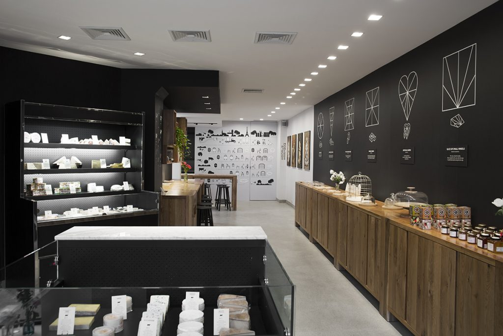 French Cheese Board store in Soho, New York