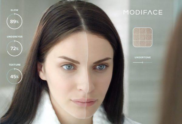 ModiFace 推出虚拟现实新技术,可实时演示使用护肤品几周后皮肤发生的变化