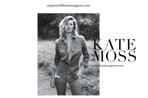 超模 Kate Moss 自立门户,开办自己的模特经纪公司