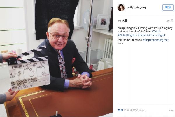 拯救奥黛丽·赫本头发的人:著名头皮护理专家 Philip Kingsley 去世