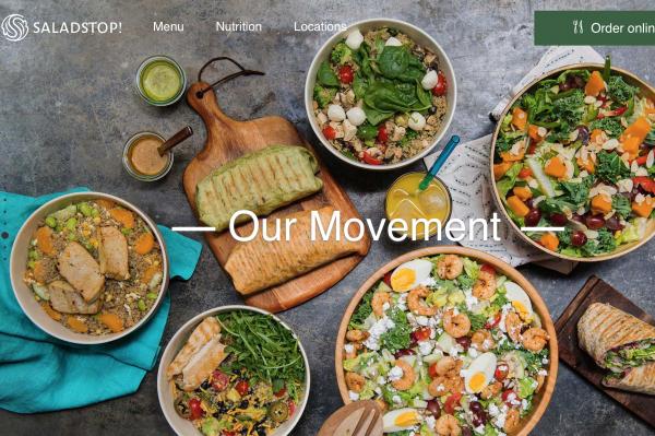 新加坡连锁沙拉吧品牌 SaladStop! 完成 500万新加坡元融资