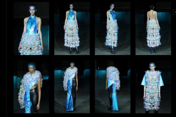 日本未来主义设计师中里唯马,用3D打印批量制造高定时装