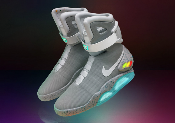 Nike 第二代自系带运动鞋 Nike Mag 将抽签发售 89双,收入全部捐给公益基金