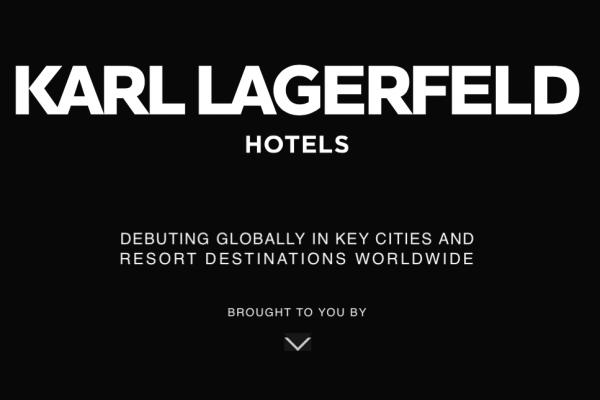 Karl Lagerfeld 正式进军酒店业,推出奢侈酒店品牌 Karl Lagerfeld Hotels & Resorts