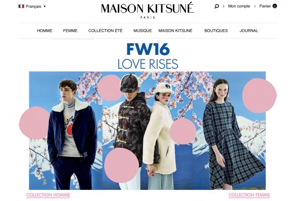 日本时尚集团 Stripe 收购法国时尚品牌 Maison Kitsuné 少数股权