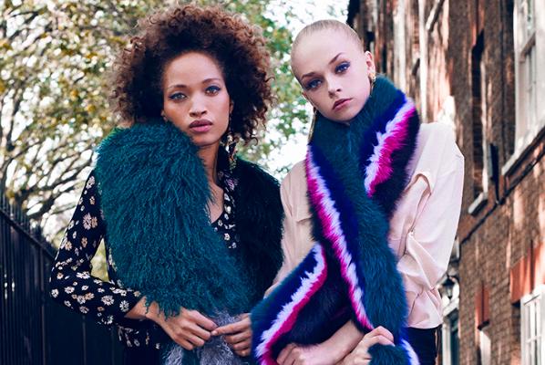 从毛茸茸的创意围巾中诞生的新锐设计师品牌:Charlotte Simone
