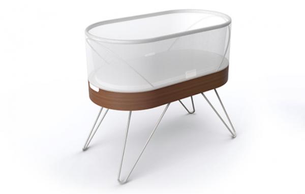 能让婴儿在一分钟内平静下来!设计先锋 Yves Béhar 打造智能婴儿床 Snoo
