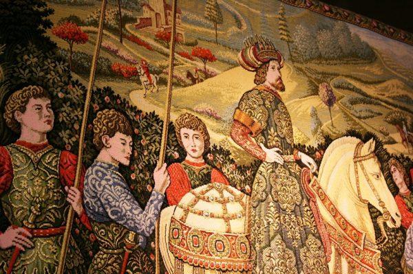 300年历史的西班牙挂毯厂摆脱破产厄运,获近200年来最大订单