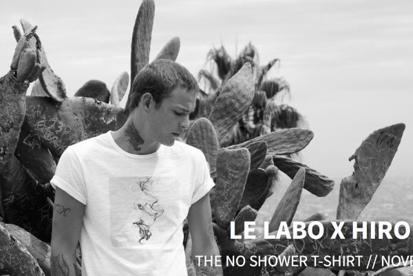 洛杉矶男装潮牌 Hiro Clark携手高端香水品牌 Le Labo,推出能持续释放香氛的T恤