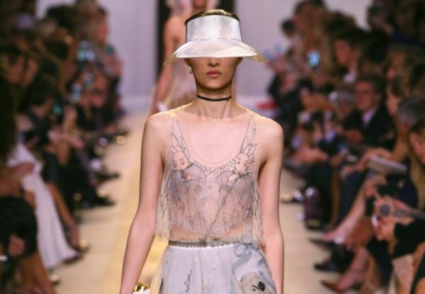 2017年春夏面料潮流趋势:薄纱、尼龙、皮草、金属感