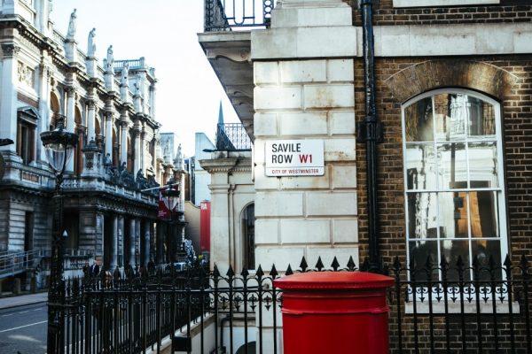 伦敦出台新政保护高级男装定制一条街 Savile Row等历史街区,违和者免进!