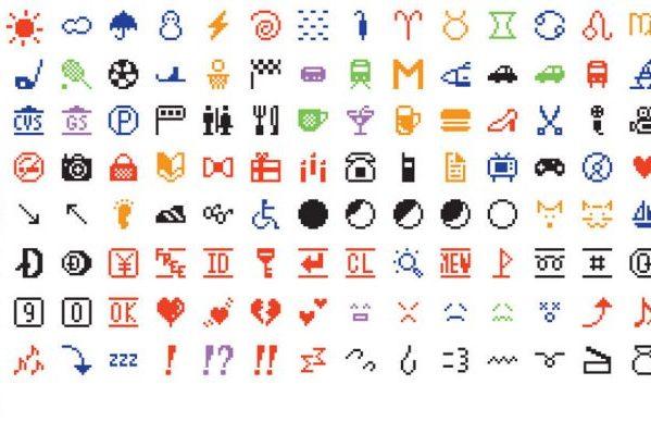纽约现代艺术博物馆收藏最原始的一套 emoji手机表情