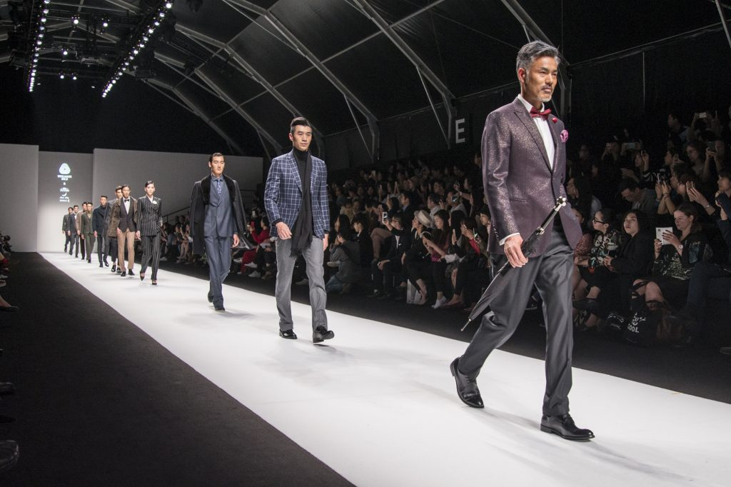 Woolmark Gold menswear fashion show