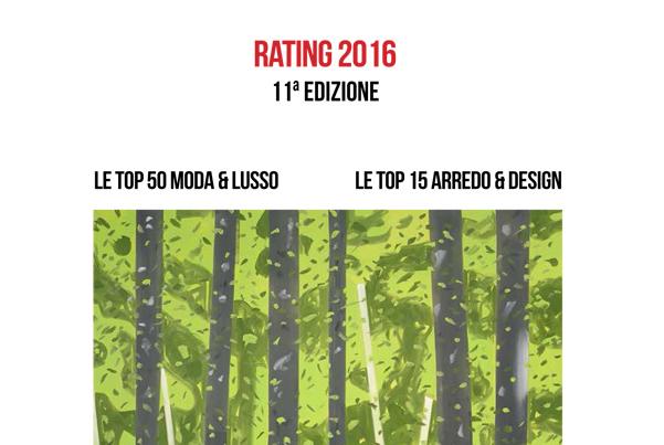 2016年65个最具上市潜质的意大利时尚设计公司排行榜,Armani 高居榜首