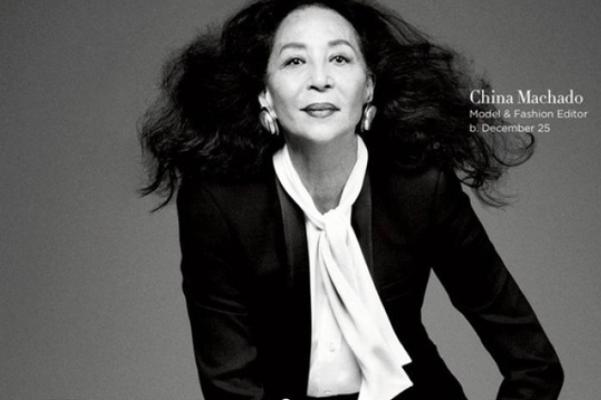 中葡混血的传奇超模 China Machado 86岁仙逝,上个月还在拍摄时尚大片!