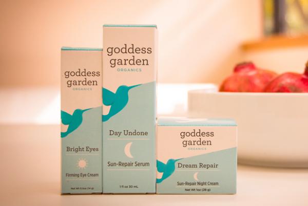 美国有机护肤品牌 Goddess Garden完成A轮融资,明年增加7000家分销网点