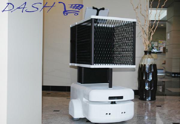 Dash 机器人购物车:帮助顾客规划购物路径,还能自动支付和卸货