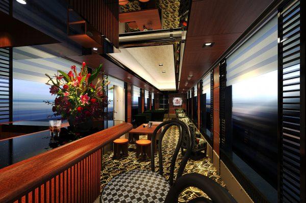 日本豪华列车Twilight Express瑞风明年 6月发车,奢华内饰曝光,票价最高达7.5万元人民币
