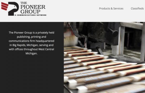 赫斯特收购密歇根出版和印刷公司 The Pioneer Group