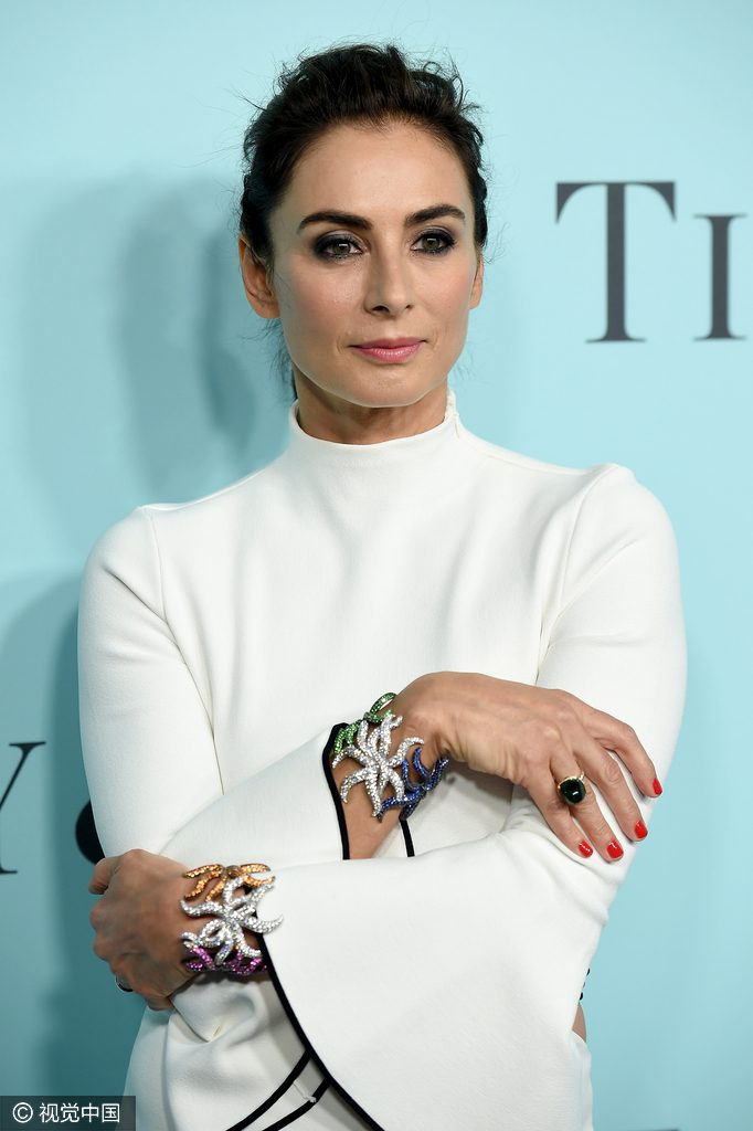 NEW YORK, NY - APRIL 15: Tiffany & Co. Design Director, Francesca Amfitheatrof attends the Tiffany & Co. Blue Book Gala at The Cunard Building on April 15, 2016 in New York City. (Photo by Dimitrios Kambouris/Getty Images)