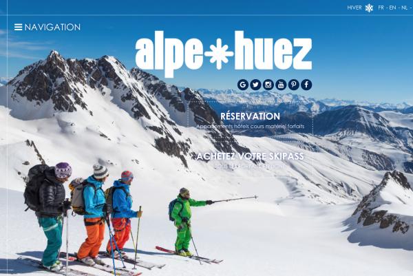 拥有世界最长单雪道的 Alpe d'Huez 获封2017年欧洲最佳滑雪场称号