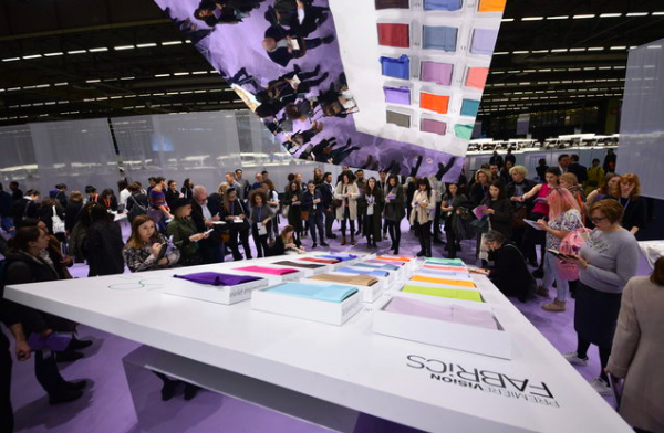 Première Vision 2018巴黎春夏面料展场吸引5.6万人参观,73%来自海外