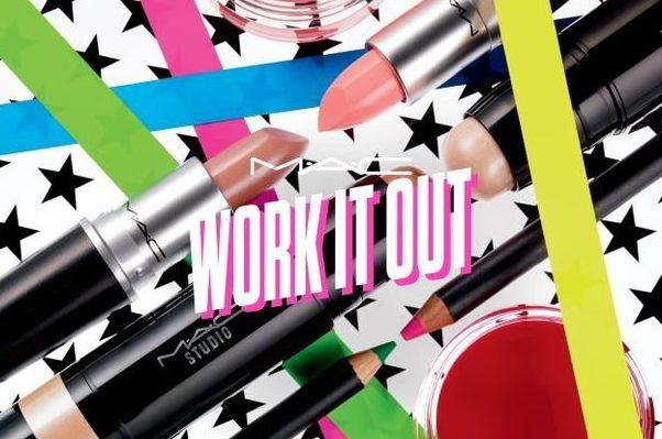 休闲运动风吹进美妆界,M.A.C 推出健身专用彩妆系列