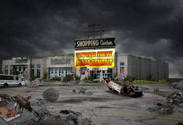 投资人如何从垂死的购物中心身上赚钱:低价买进,降低租金,改造购物环境