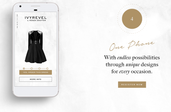 Google 联手H&M投资的瑞典时尚品牌 Ivyrevel ,开创数字化时装定制新天地