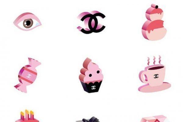 为推广新款唇膏,Chanel 首次发布 emojis 表情包
