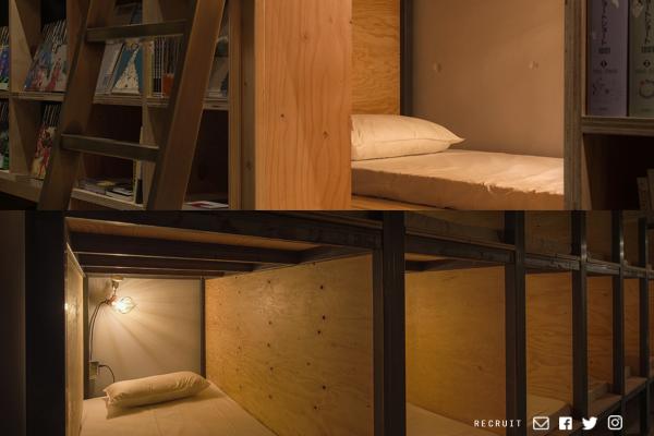 可以留宿却不卖书的书店,日本新体验式酒店 Book and Bed Tokyo