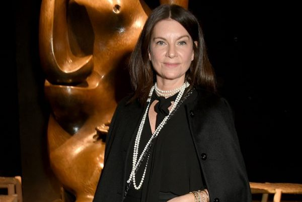 LONDON, ENGLAND - FEBRUARY 20: Natalie Massenet wearing Burberry attends the Burberry February 2017 Show during London Fashion Week February 2017 at Makers House on February 20, 2017 in London, England. (Photo by David M. Benett/Dave Benett/Getty Images for Burberry)