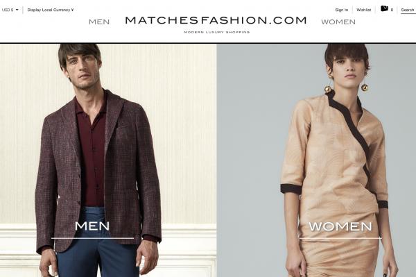 英国奢侈品电商 Matchesfashion去年销售大增 61%, CEO谈科技与创新