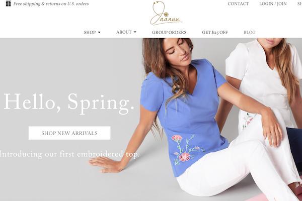 让医生护士也时尚!首个专为医疗行业打造的时尚品牌Jaanuu融资500万美元