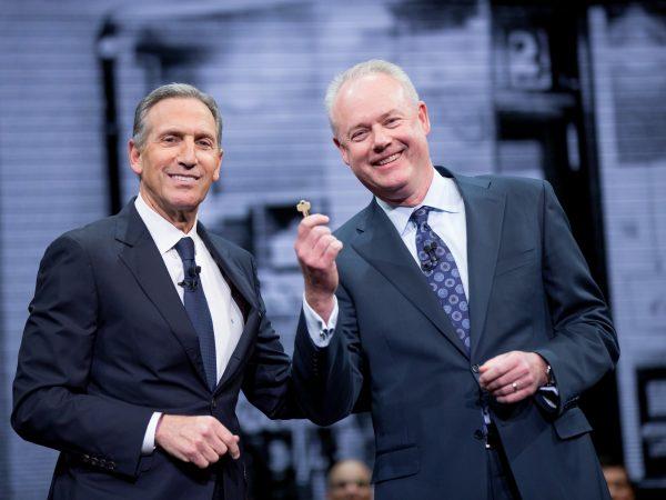 新任CEO谈星巴克的未来:我不会成为下一个 Howard Schultz
