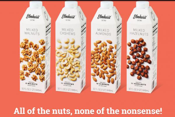 """牛奶行业不景气,纽约老牌乳制品公司 Elmhurst 靠""""坚果奶""""逆境重生"""