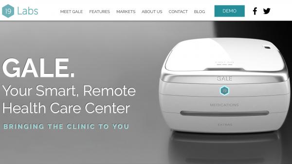 随身携带的诊所!苹果前 iPod 主管打造智能急救箱 Gale