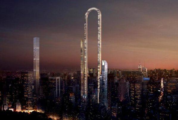 纽约将建成世界最长 U型摩天大楼 The Big Bend