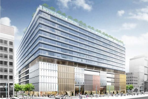 日本打造银座最大购物中心 Ginza Six,LVMH 集团房地产投资部门出资