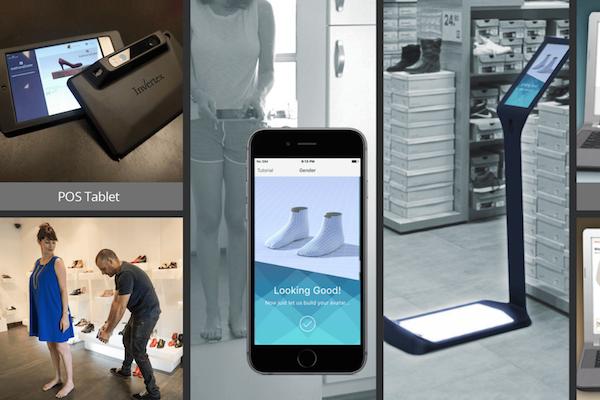 以色列时尚技术初创公司 Invertex 推出足部 3D扫描技术,帮助顾客网购最合脚的鞋