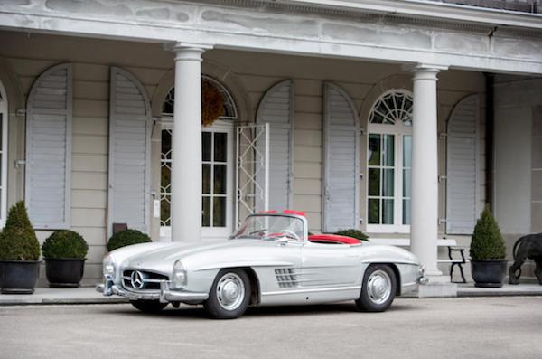 邦瀚斯比利时拍卖会拍出最贵奔驰老爷车,成交价 112.7万欧元