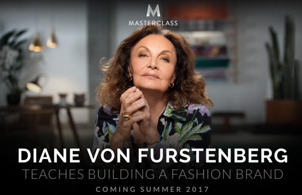 Diane von Furstenberg 将登上在线教育平台 MasterClass 传授时尚创业秘诀