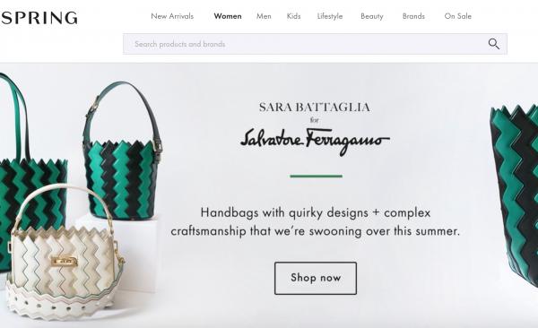 新一代时尚购物网站 Spring 完成 6500万美元 C轮融资