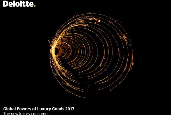 德勤2017年全球奢侈品公司百强榜单:LVMH蝉联第一、7家中国公司上榜