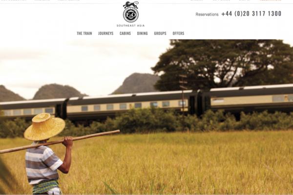 """2017迎来高端旅行的""""火车年"""",传统火车旅行成为新奢侈出行方式"""