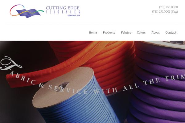 纺织品加工和科技面料供应商 Brand&Oppenheimer 收购窄边面料生产商 Cutting Edge TexStyles